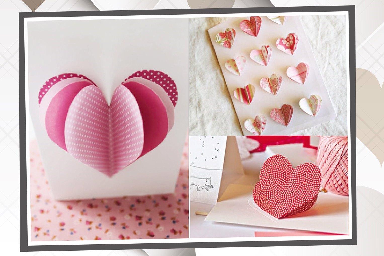 Сделать своими руками валентинку на 14 февраля