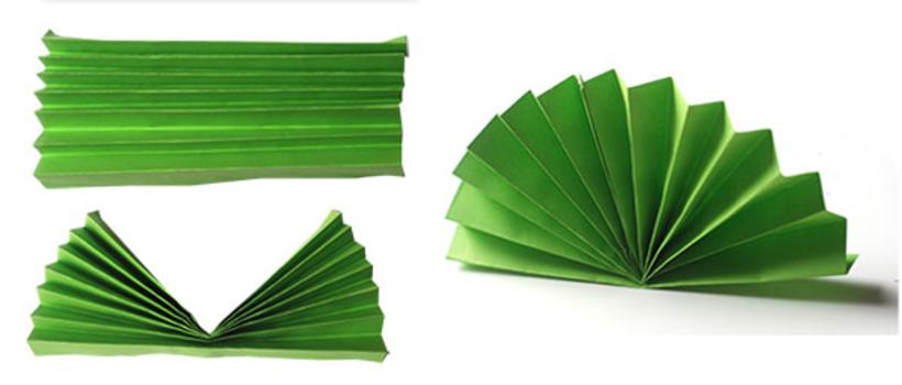 Открытка из бумаги веер, открытка курбан байрамом